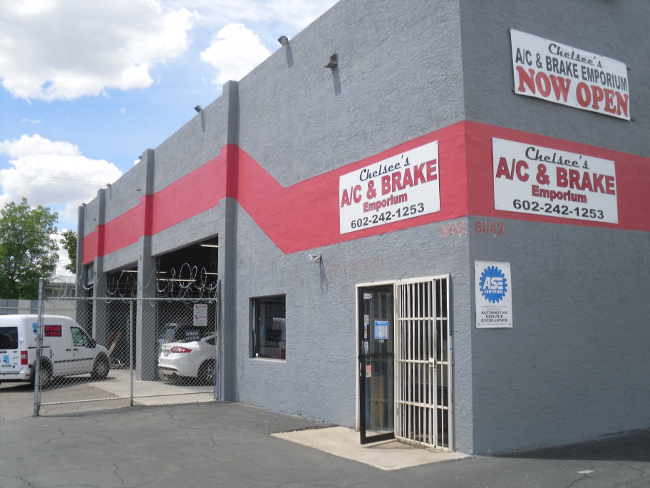 Auto repair shop Phoenix - Chelsee's A/C & Brake Emporeum