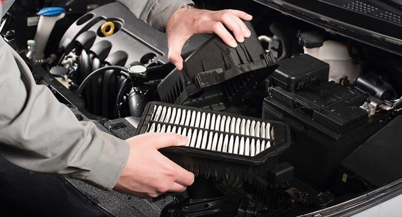 Phoenix car maintenance - air filter
